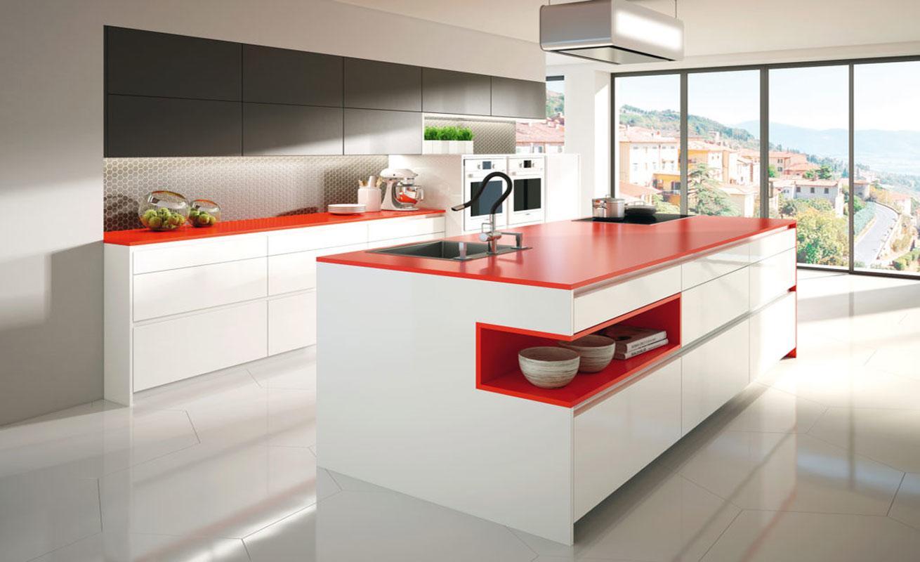 studio HR, DanKuchen boje kuhinja, boje kuhinjskih fronti, boje modela Solbermond slika 01