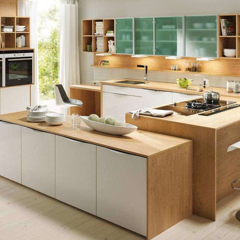 DanKuchen Chromform kuhinja bijele boje visokog sjaja