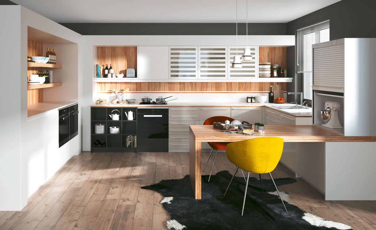 Dan Kuchen studio HR, kuhinje po mjeri, model Living galerija 01