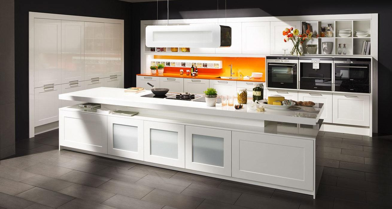 DanKuchen studioHR, DanKuchen Bretagne kuhinja bijele boje visokog sjaja