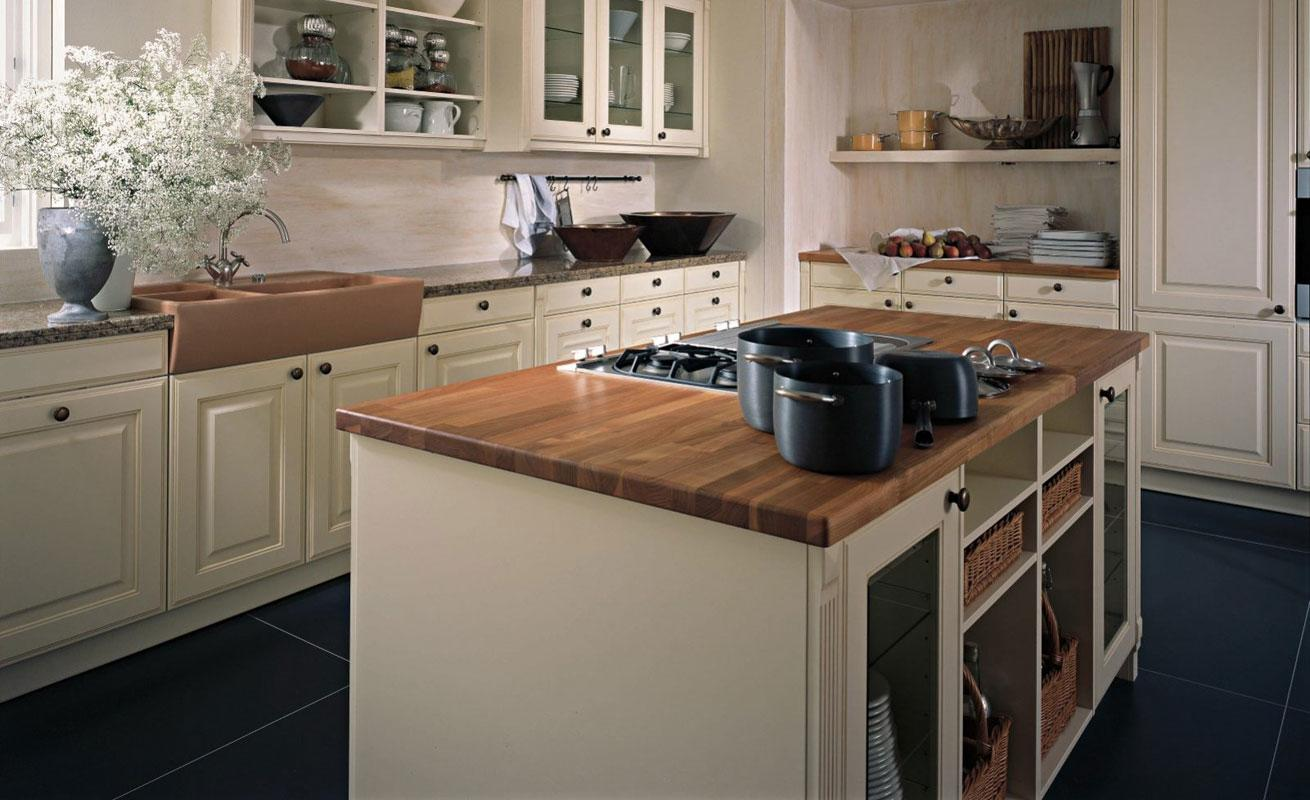 studio HR, DanKuchen boje kuhinja, boje kuhinjskih fronti, boje modela Landhaus, slika 02