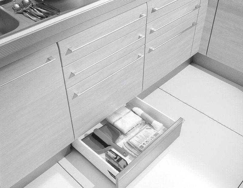 studio HR, DanKuchen kuhinje po mjeri, gratis ladice u podnožju kuhinje, slika 02