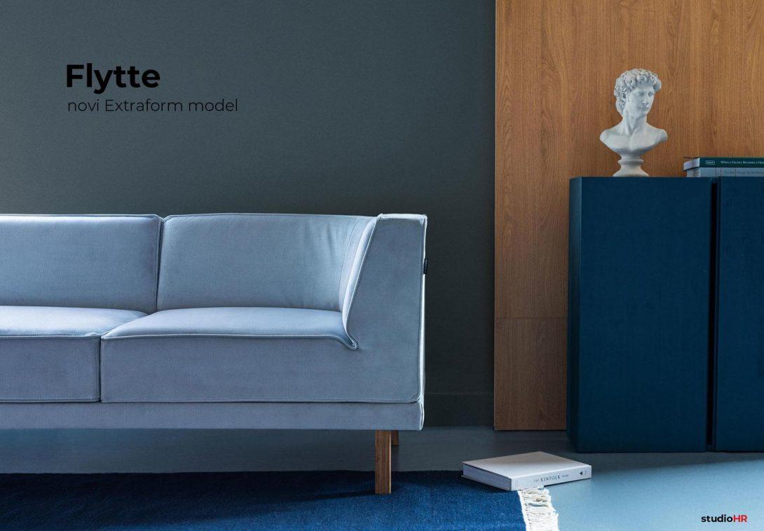 Extraform mode Flytte, dizajnerska sjedeća garnitura