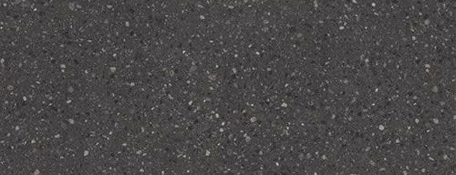 DanKuchen kuhinjska radna ploča Terrazzo schwarz mat