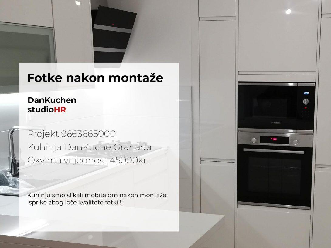 DanKuchen Granada Projekt 9663665000, Fotke nakon montaže