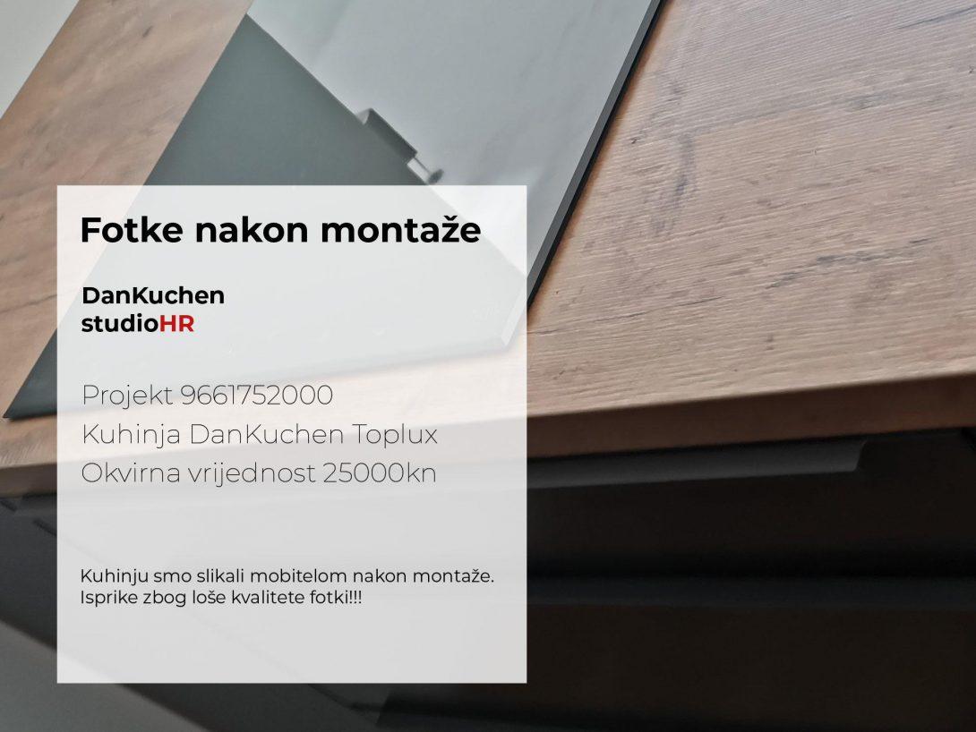 DanKuchen Toplux Projekt 9661752000, Fotke nakon montaže
