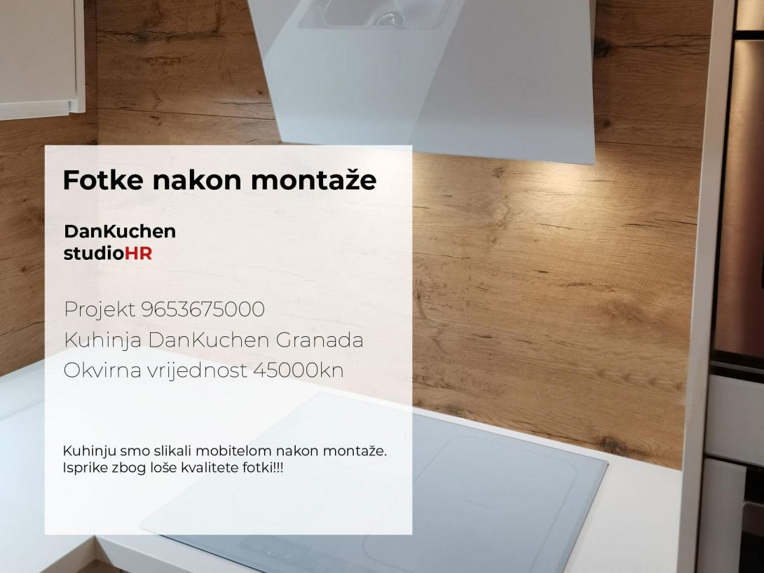 DanKuchen Granada Projekt 9653675000, Fotke nakon montaže