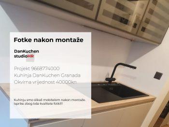 DanKuchen Granada Projekt 9668774000, Fotke nakon montaže