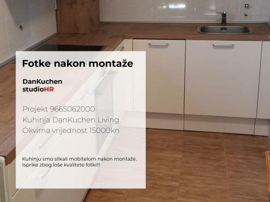 DanKuchen Living Projekt 9665062000 Fotke nakon montaže