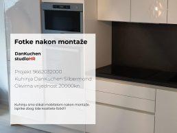 DanKuchen Silbermond Projekt 9662032000, Fotke nakon montaže