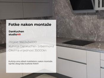 DanKuchen Silbermond Projekt 9663434000, Fotke nakon montaže