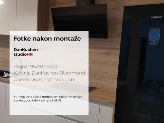 DanKuchen Silbermond Projekt 9669377000, Fotke nakon montaže