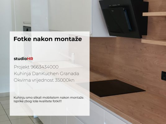 DanKuchen Granada Projekt 9668289000, Fotke nakon montaže