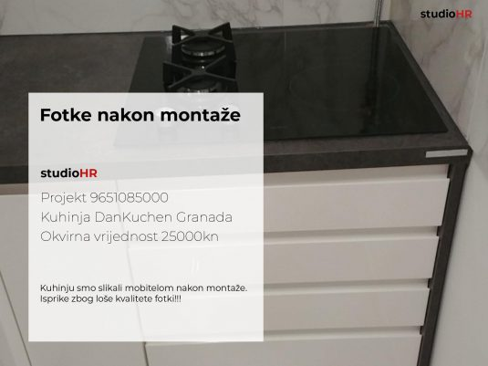 DanKuchen Granada Projekt 9651085000, Fotke nakon montaže slika 00
