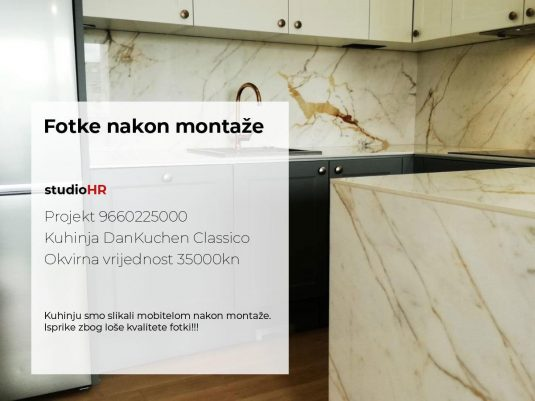 DanKuchen Classico Projekt 9660225000, Fotke nakon montaže slika 01