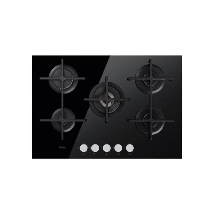 Whirlpool GOA7523NB Ugradbena Plinska ploča za kuhanje, studioHR kućanski aparati, slika 00