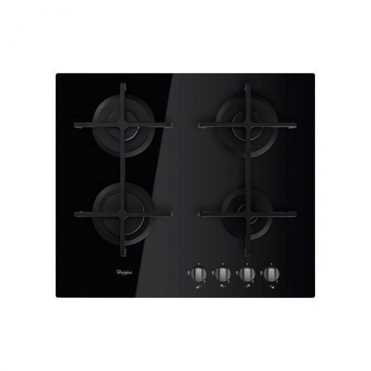 Whirlpool GOS6413NB Ugradbena Plinska ploča za kuhanje, studioHR kućanski aparati, slika 00