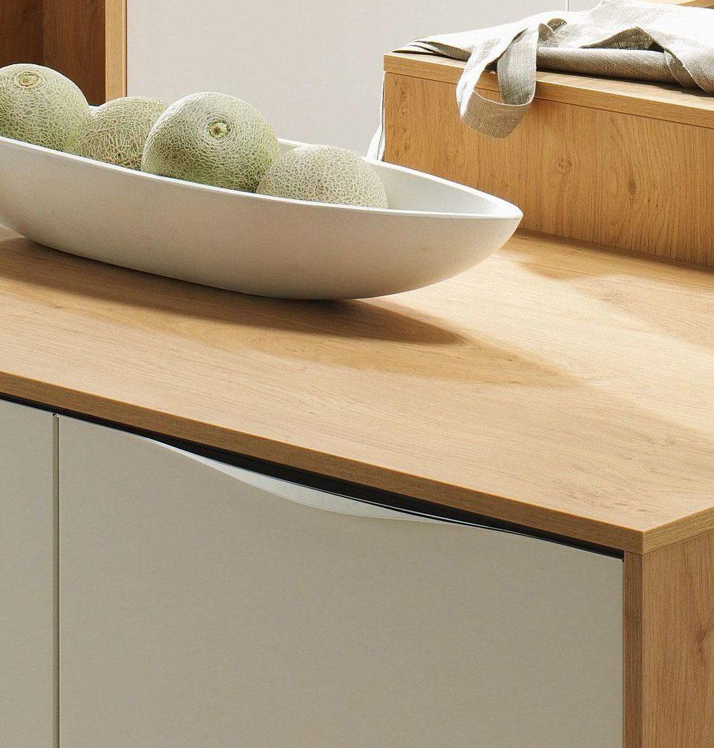 studioHR, DanKuchen Chromform kuhinja bijele boje visokog sjaja