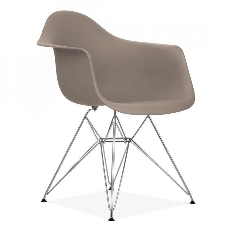 studioHR, DAR stolca sivo smeđe boje, slika 02
