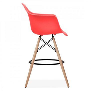 studioHR, DAW barska stolca crvene boje, slika 03