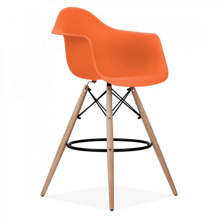 studioHR, DAW barska stolca narančaste boje, slika 02