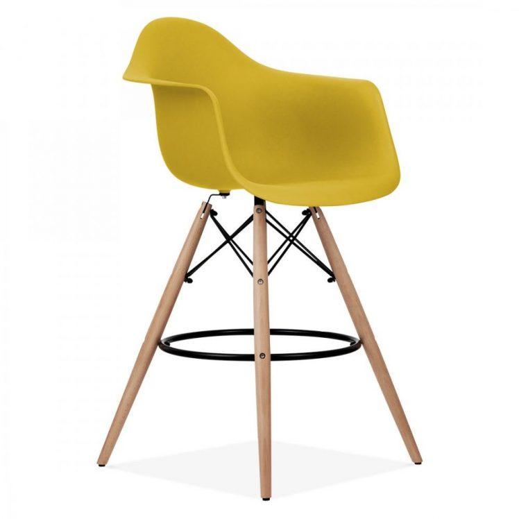studioHR, DAW barska stolca oker žute boje, slika 02