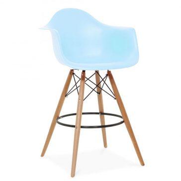 studioHR, DAW barska stolca plave boje, slika 02