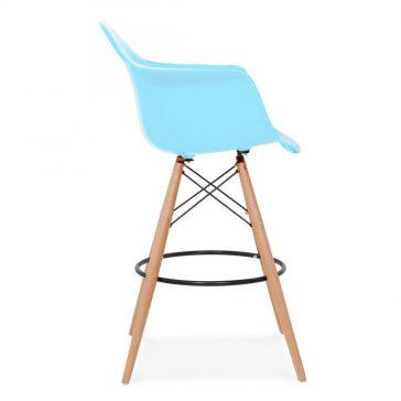 studioHR, DAW barska stolca plave boje, slika 03