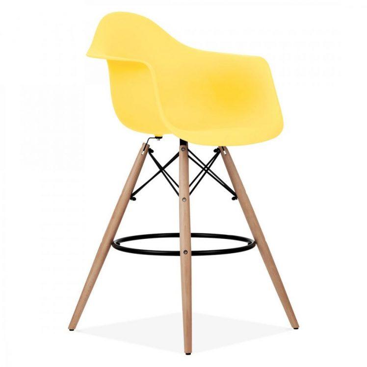 studioHR, DAW barska stolca žute boje, slika 02