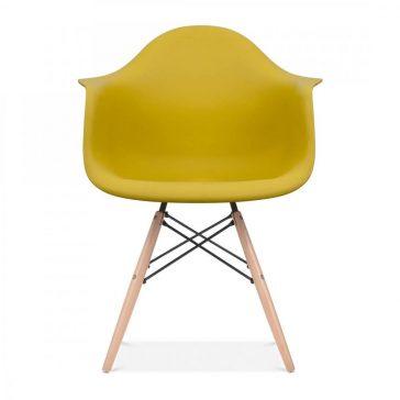 studioHR, DAW stolca oker žute boje, slika 01