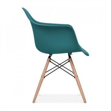 studioHR, DAW stolca petrolej zelene boje, slika 03