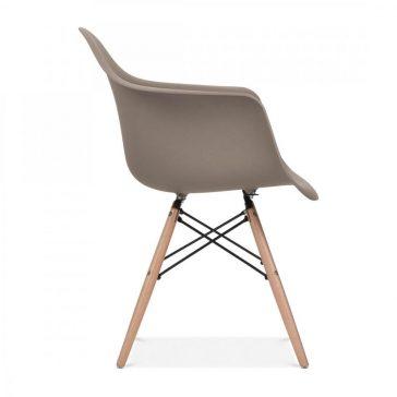 studioHR, DAW stolca sivo smeđe boje, slika 03
