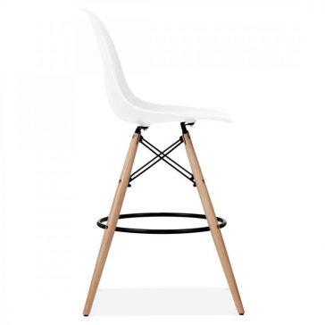 studioHR, DSW barska stolca bijele boje, slika 03