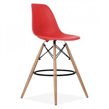 studioHR, DSW barska stolca crvene boje, slika 02
