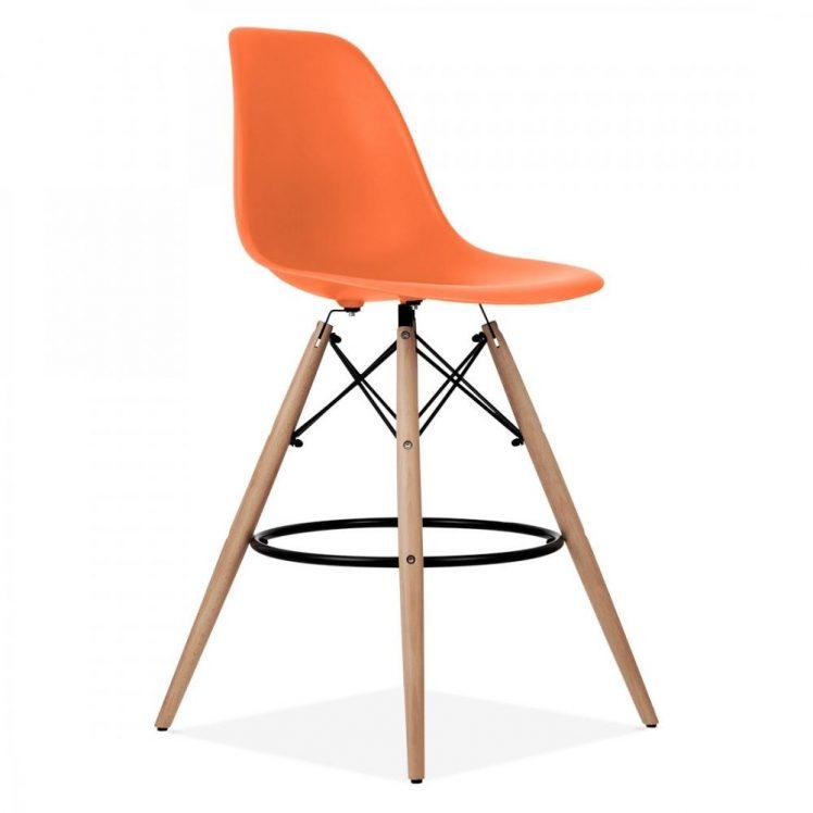 studioHR, DSW barska stolca narančaste boje, slika 02