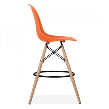 studioHR, DSW barska stolca narančaste boje, slika 03