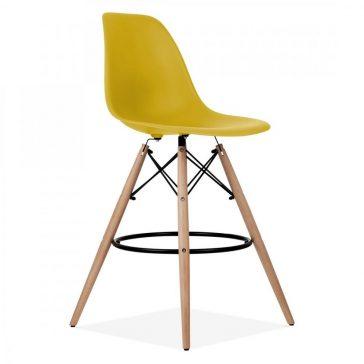 studioHR, DSW barska stolca oker žute boje, slika 02