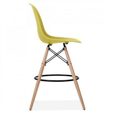 studioHR, DSW barska stolca oker žute boje, slika 03