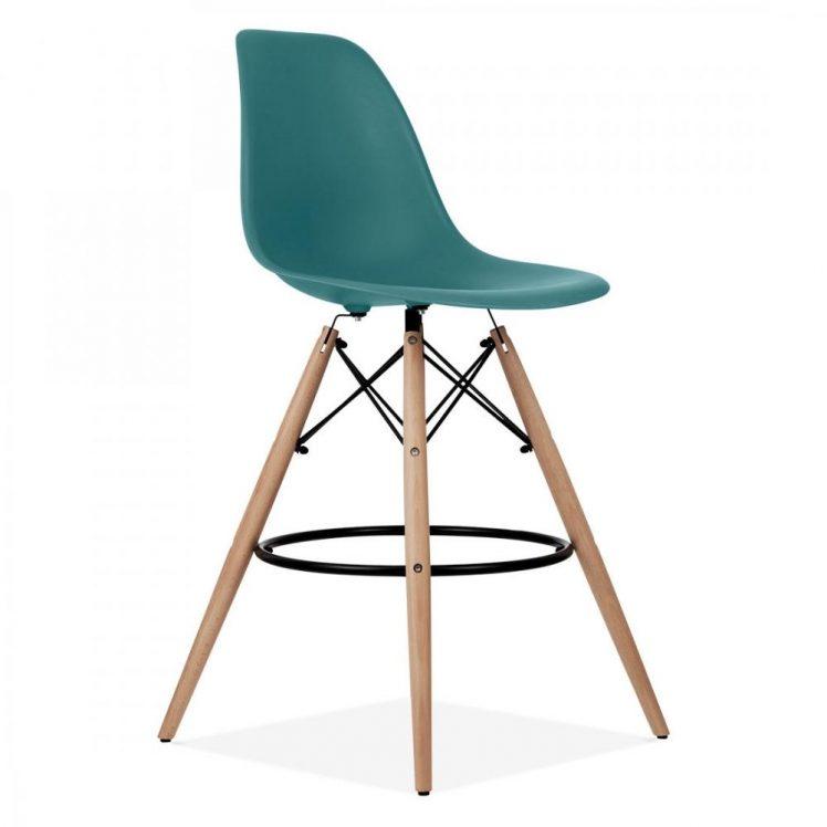 studioHR, DSW barska stolca petrolej zelene boje, slika 02