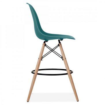 studioHR, DSW barska stolca petrolej zelene boje, slika 03