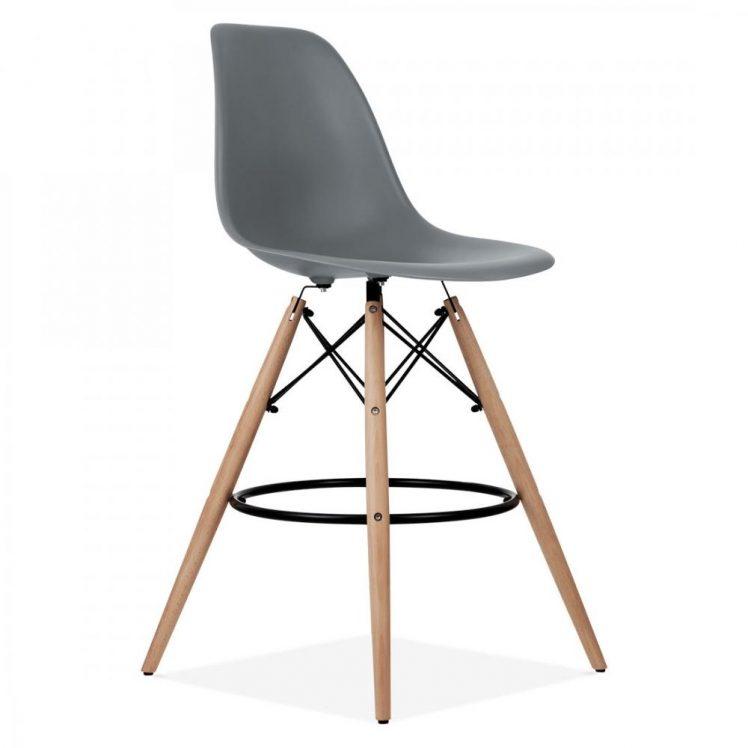 studioHR, DSW barska stolca sive boje, slika 02