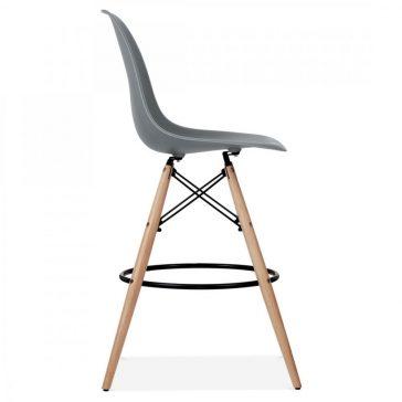 studioHR, DSW barska stolca sive boje, slika 03