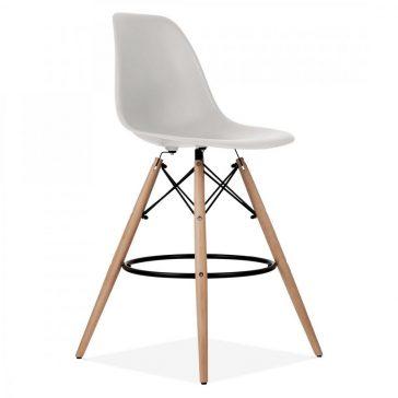 studioHR, DSW barska stolca svijetlo sive boje, slika 02