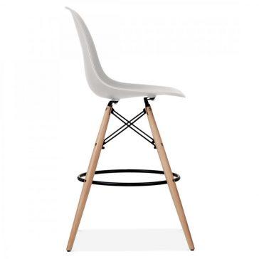 studioHR, DSW barska stolca svijetlo sive boje, slika 03