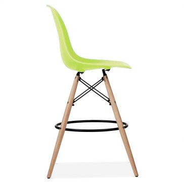studioHR, DSW barska stolca zelene boje, slika 03