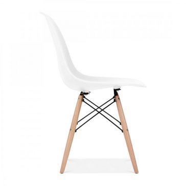 studioHR, DSW stolca bijele boje, slika 03