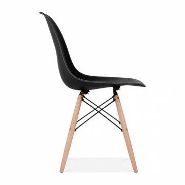 studioHR, DSW stolca crne boje, slika 03