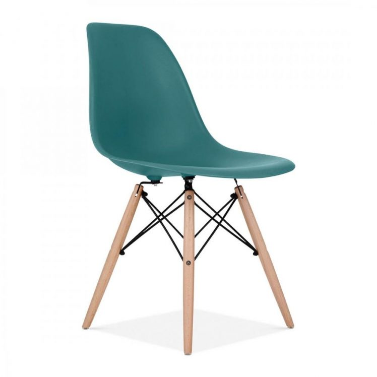 studioHR, DSW stolca petrolej zelene boje, slika 02