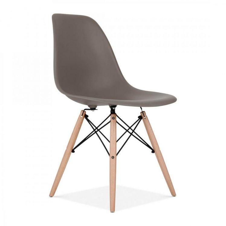 studioHR, DSW stolca sivo smeđe boje, slika 02
