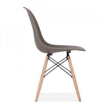 studioHR, DSW stolca sivo smeđe boje, slika 03